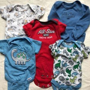 Boys newborn onesies